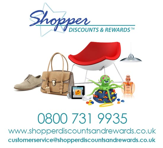 Shopper Discounts and Rewards contact details