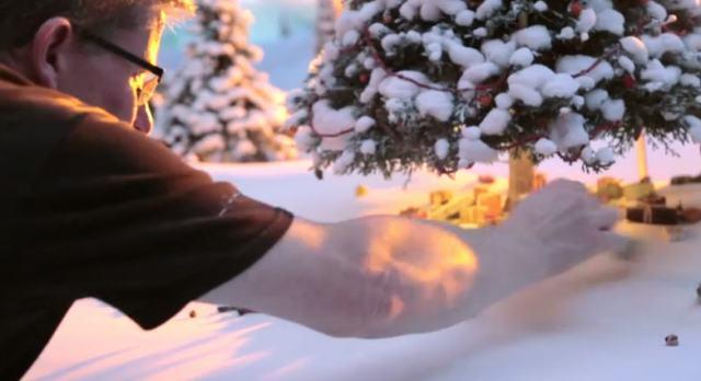 John Lewis Christmas 2013 Advert behind the scenes