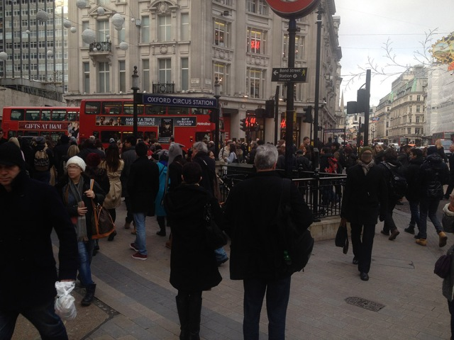 High Street Footfall in London looks busier than ever - the Shoppre Discounts and Rewards blog
